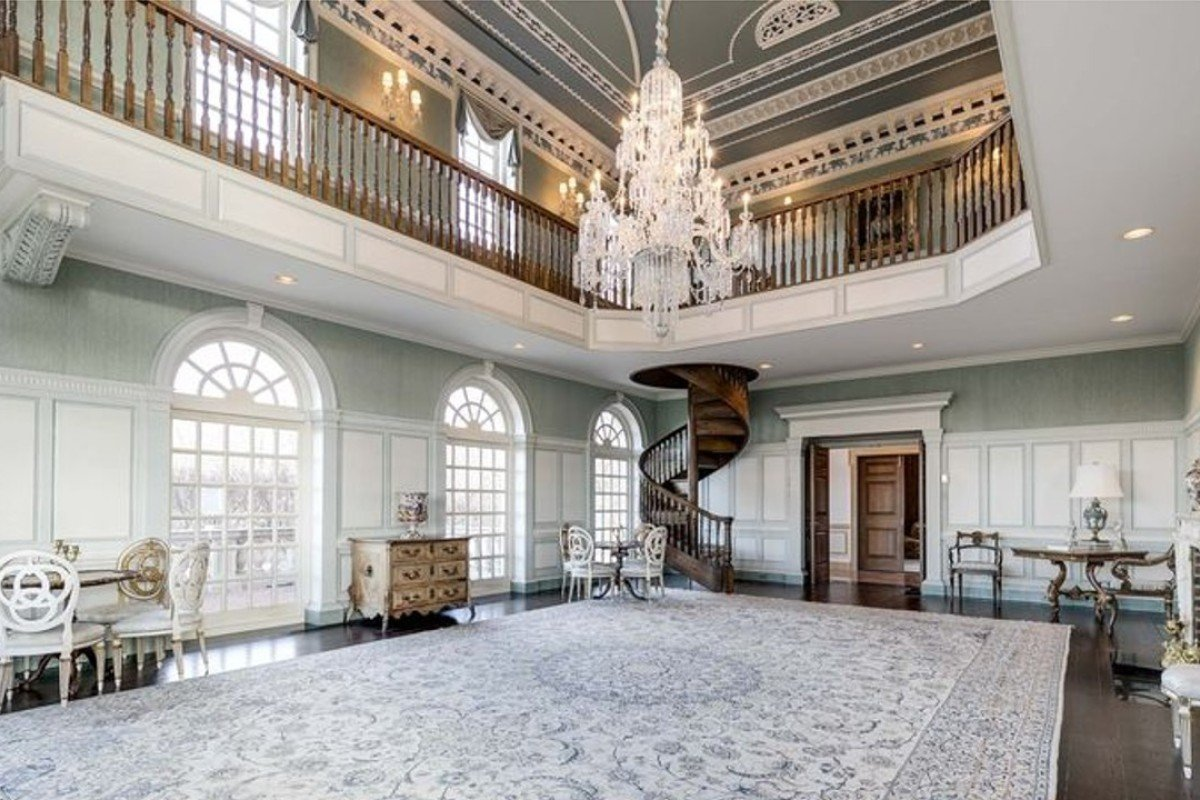 The ballroom. Photo: Sotheby's International Realty