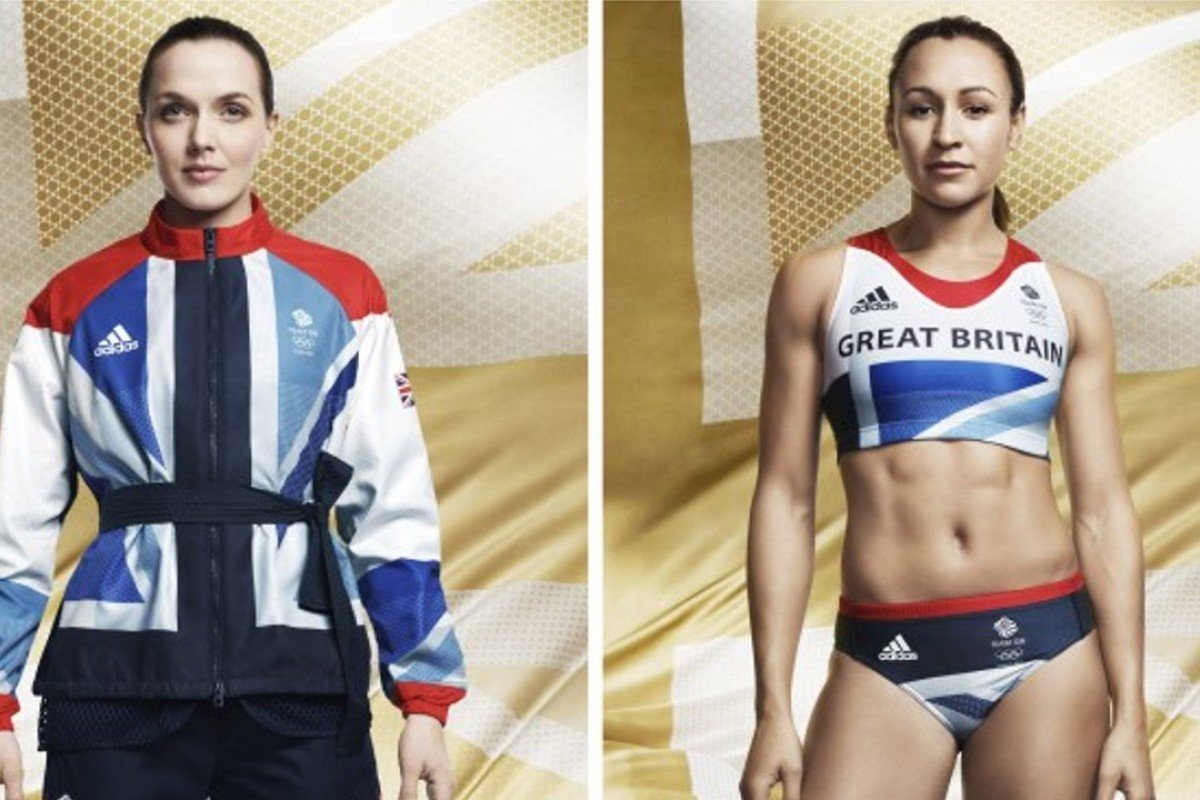 Stella McCartney for Adidas designs for the 2012 Olympic Games. Photo: Stella McCartney
