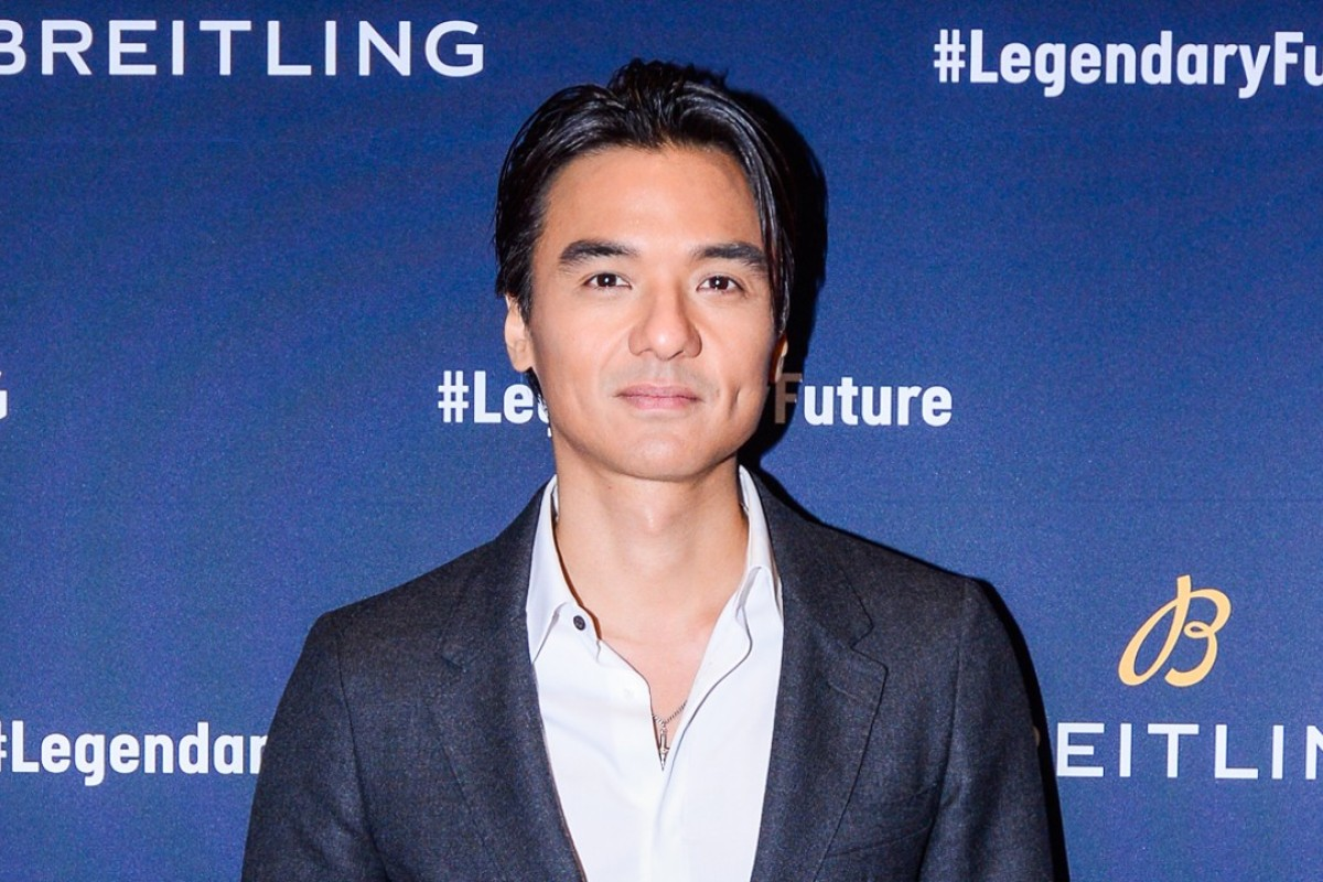 Director-actor Stephen Fung on the red carpet.