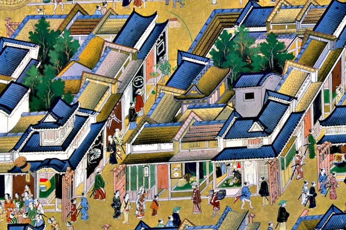 In the late 12th century, Tokyo was known as Edo (estuary) and fortified by the local clan. Photo: Early Modern Japanese Literature: An Anthology