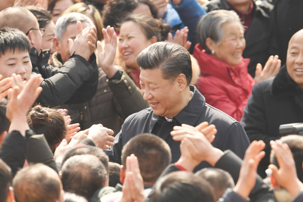 Xi Jinping's vision for China has made him popular with the Communist Party's rank and file. Photo: Xinhua
