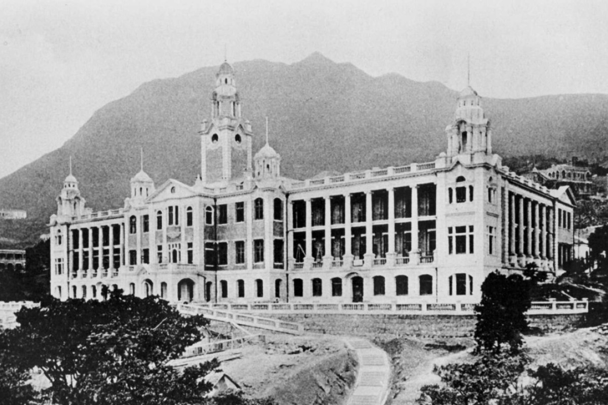 The University of Hong Kong in 1911.
