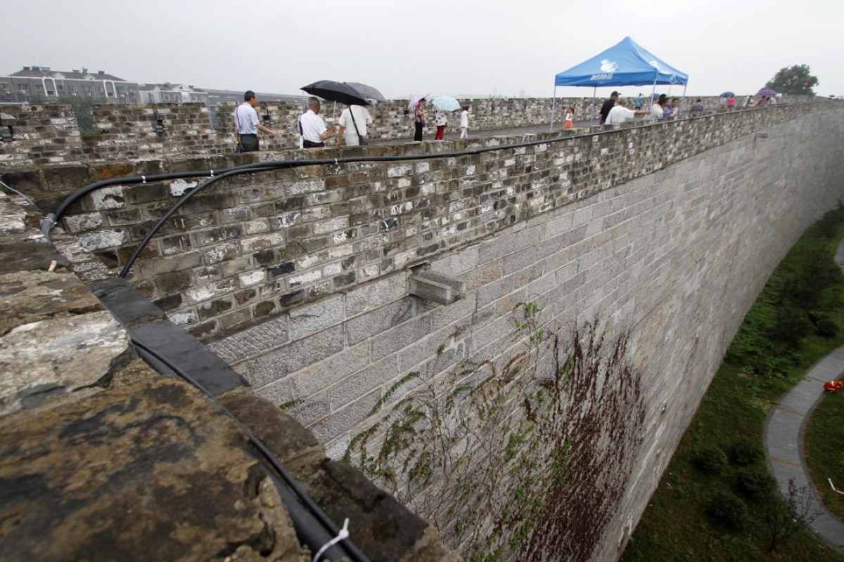 Nanjing's Ming-era city wall, which dates to the 14th century. Picture: Alamy