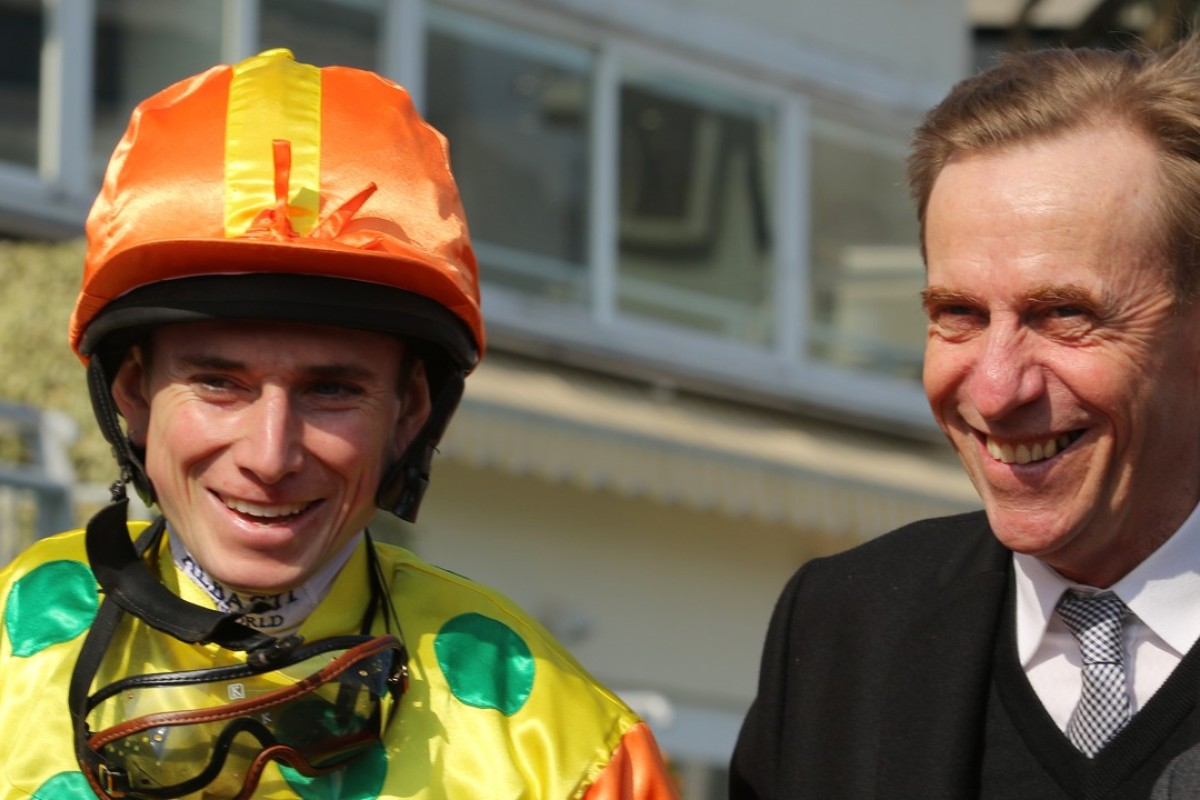 Ryan Moore and John Size. Photo: Kenneth Chan
