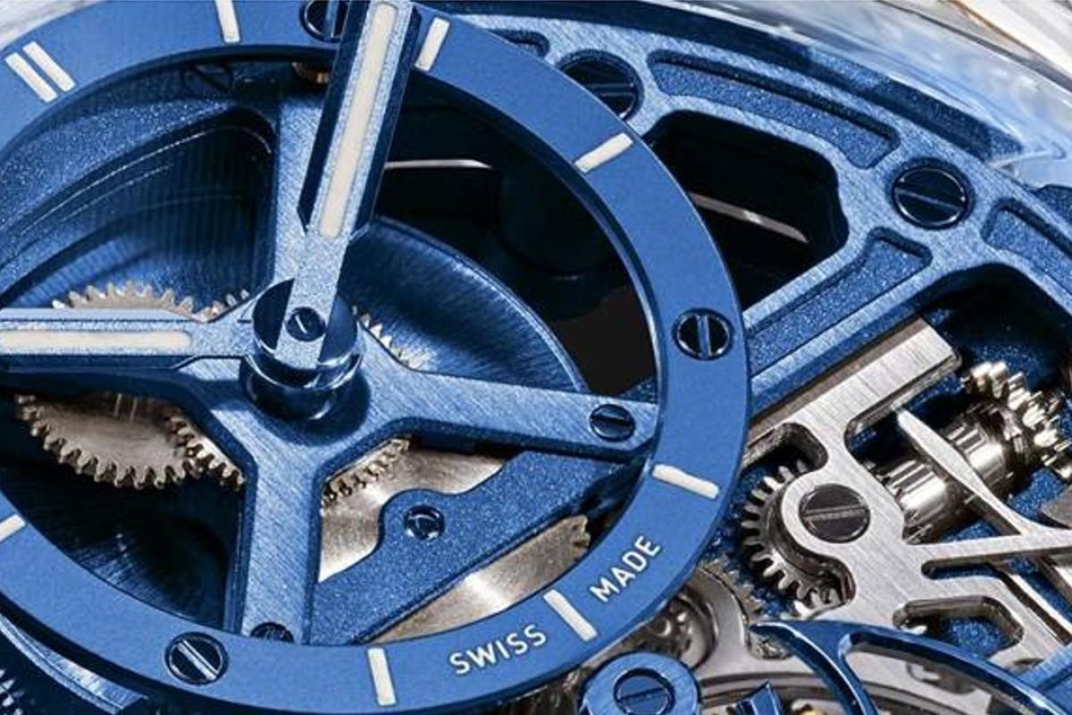 The Bell & Ross BR-X1 Skeleton Tourbillon Sapphire timepiece