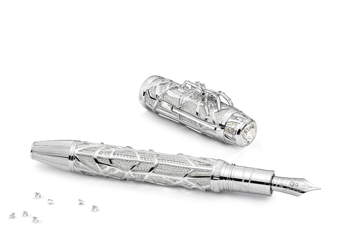 Montblanc High Artistry Hertiage Spider Metamorphosis Limited Edition 1 White Gold