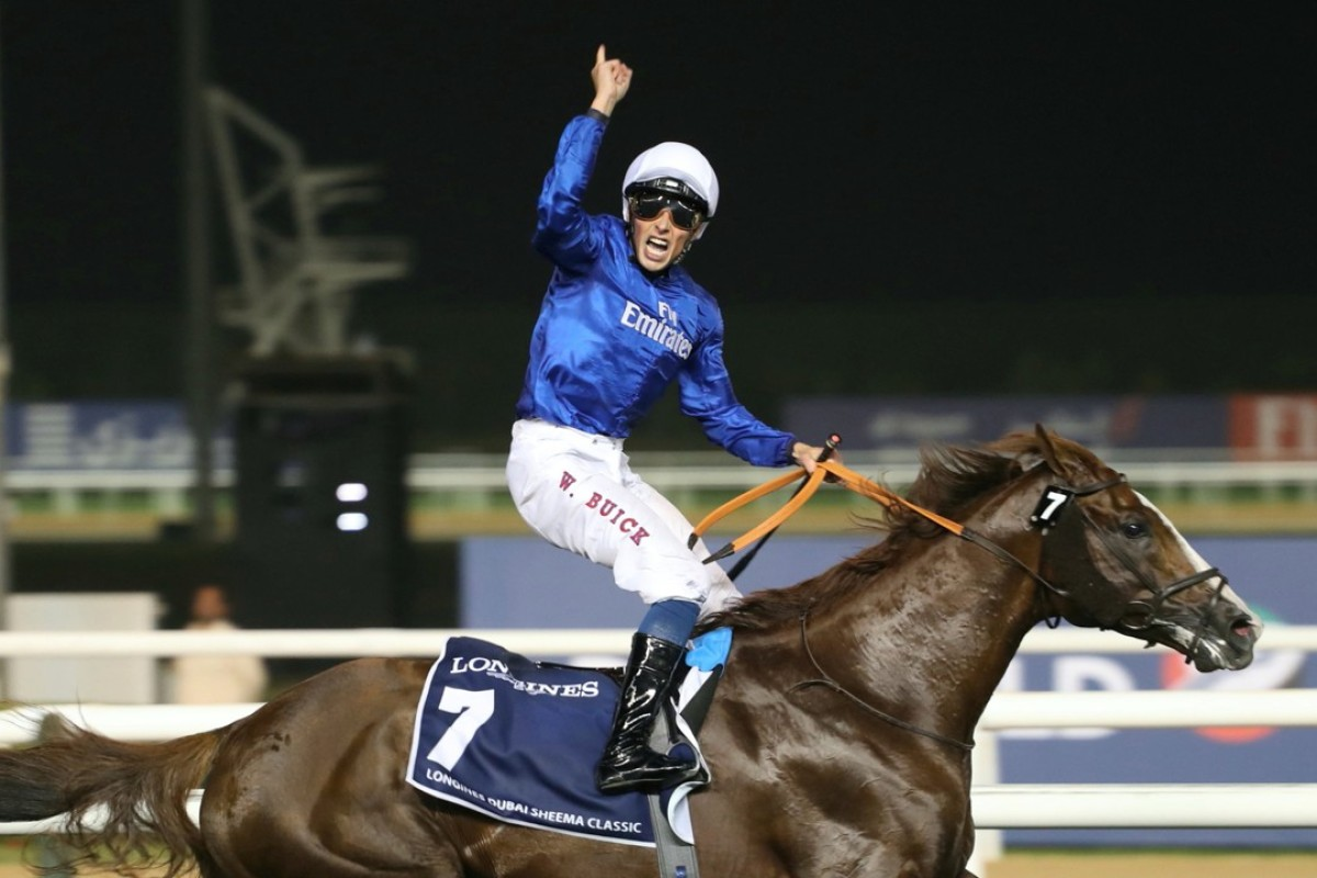 Hawkbill and William Buick win the Dubai Sheema Classic at Meydan Racecourse. Photo: Handout