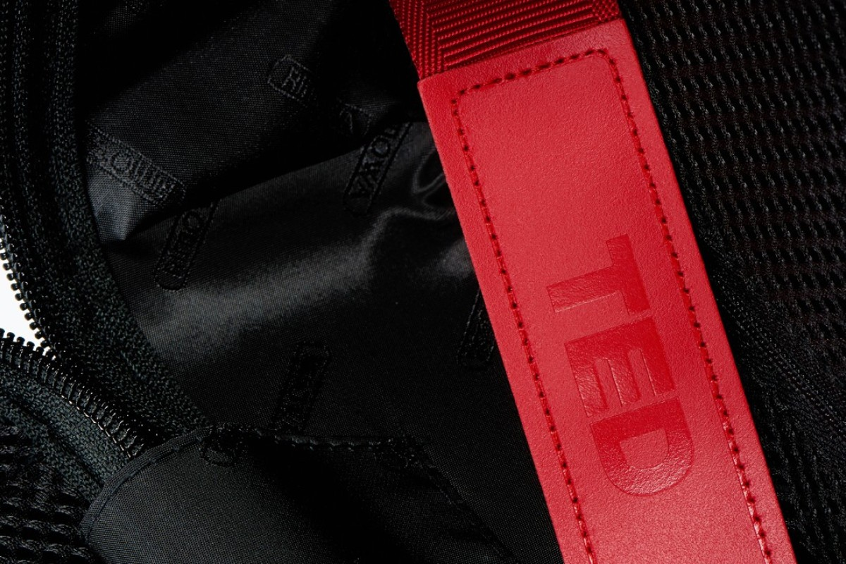 Rimowa customised 2,000 suitcases given out free to people attending this month's TED Conference 2018, which included special TED logos on the label tags and internal red luggage straps.