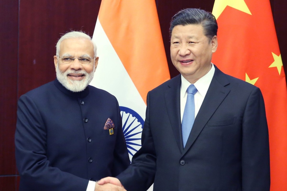 Indian Prime Minister Narendra Modi and Chinese President Xi Jinping. Photo: Xinhua