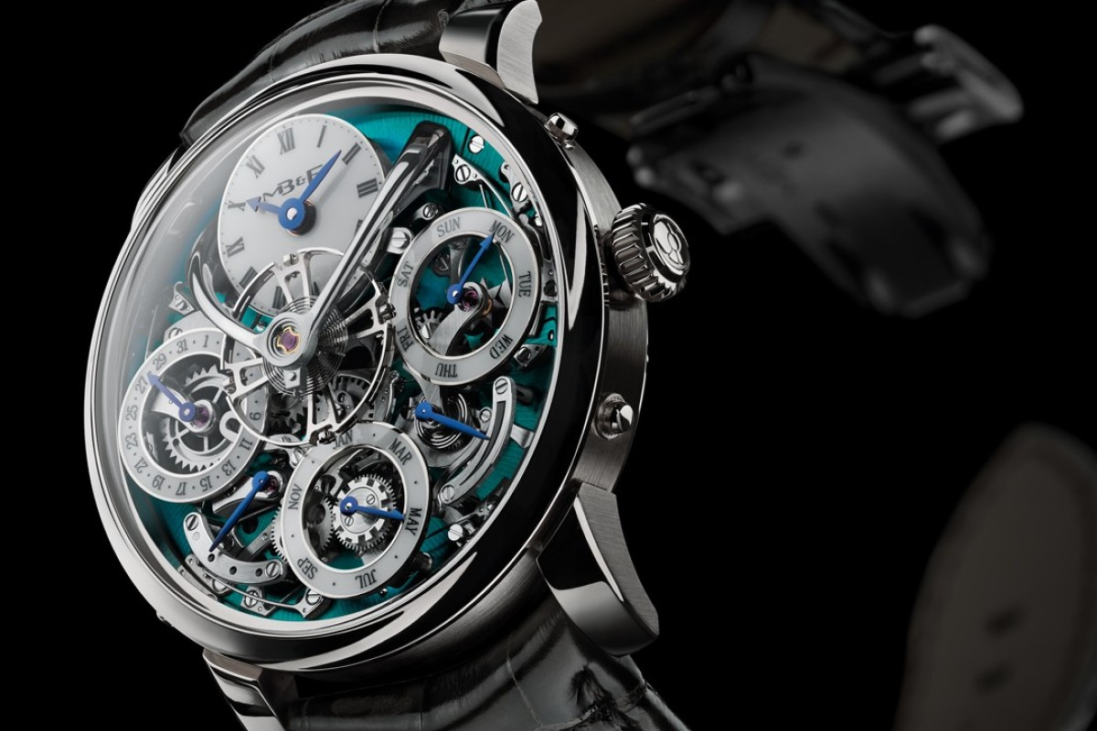 MB&F's Legacy Machine Perpetual is 'pure perfection'.