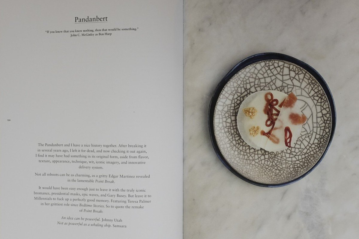 A recipe for Pandanbert, Room for Desert, by Will Goldfarb. Picture: Antony Dickson