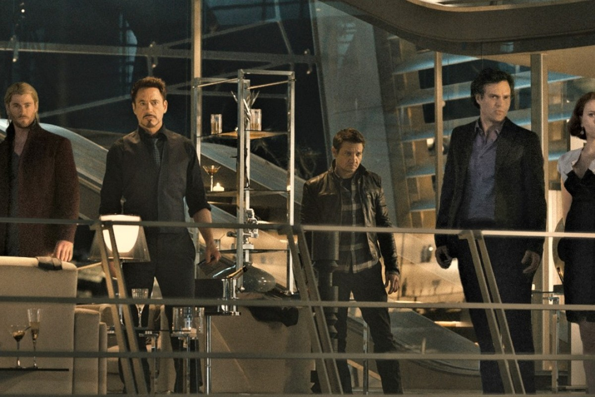 Members of the cast of 'Avengers: Age of Ultron' in a scene from the film ... but how many of them will be appearing in the next five Marvel Cinematic Universe films?