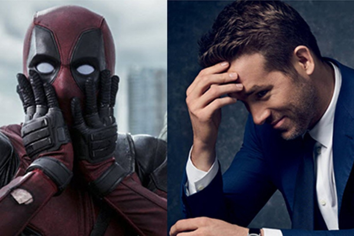Superhero Deadpool (left) and actor Ryan Reynolds, who plays him in 'Deadpool', and its forthcoming sequel, 'Deadpool 2'. So how different are they in real life? We can't tell any more.