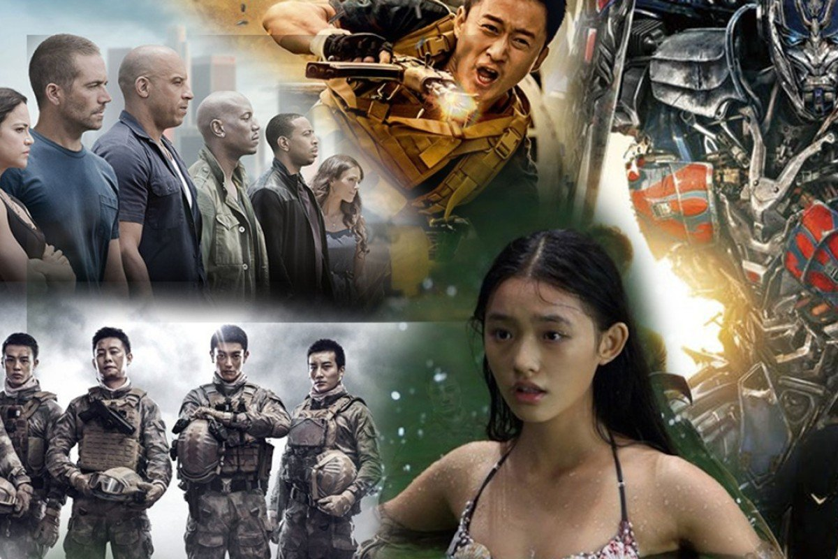 Films that have been runaway successes at the Chinese box office in recent years.