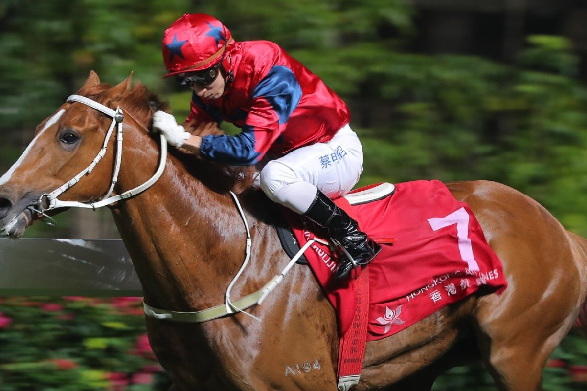 The Golden Age wins at Happy Valley in March. Photos: Kenneth Chan