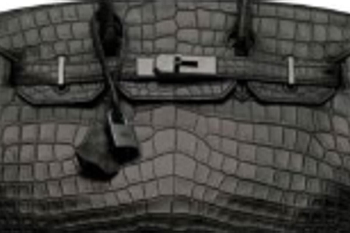 A Hermes 2010 Matte Black Niloticus Crocodile So Birkin 30 Bag Which