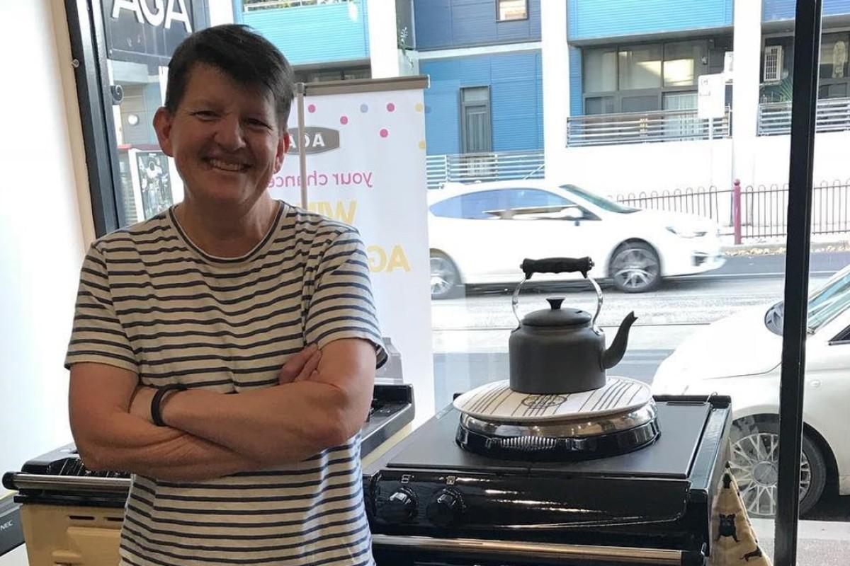Australian chef Annie Smithers. Instagram / @kittensmithers