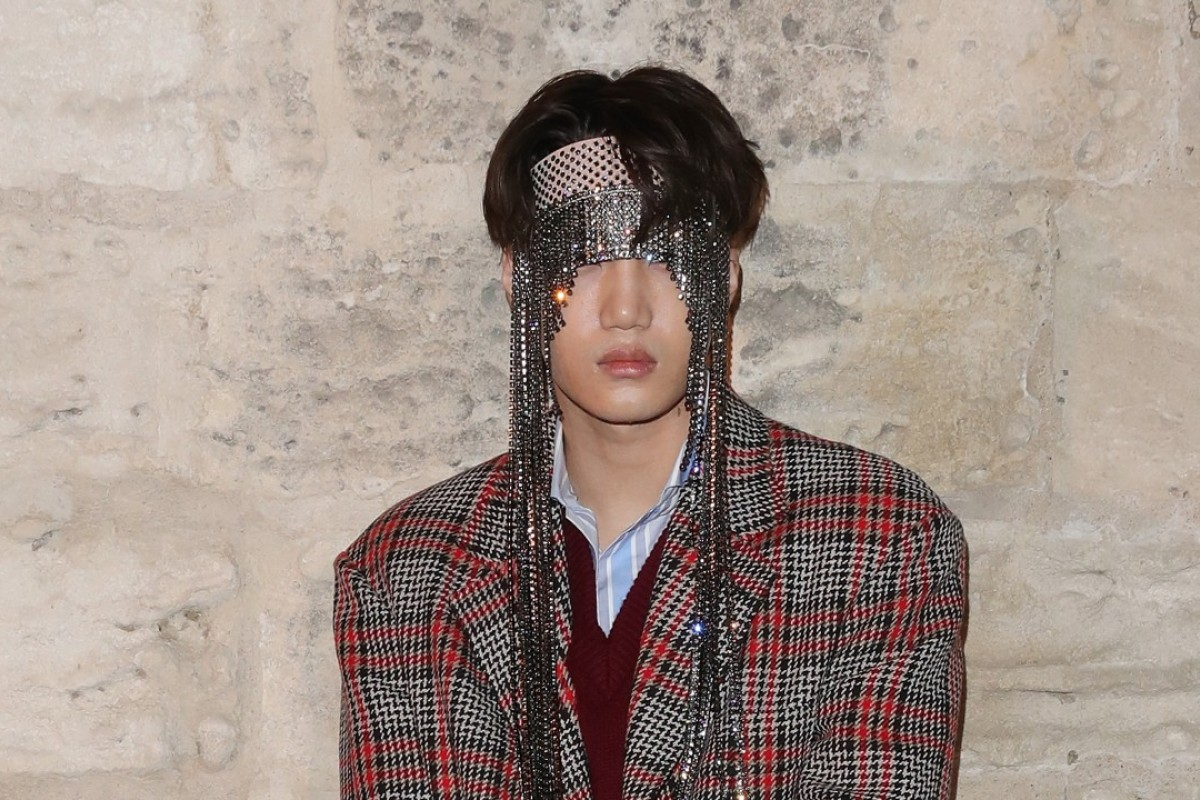 K-pop sensation Kai of EXO attends the Gucci Cruise 2019 show in Arles, France. Photo: Getty Images