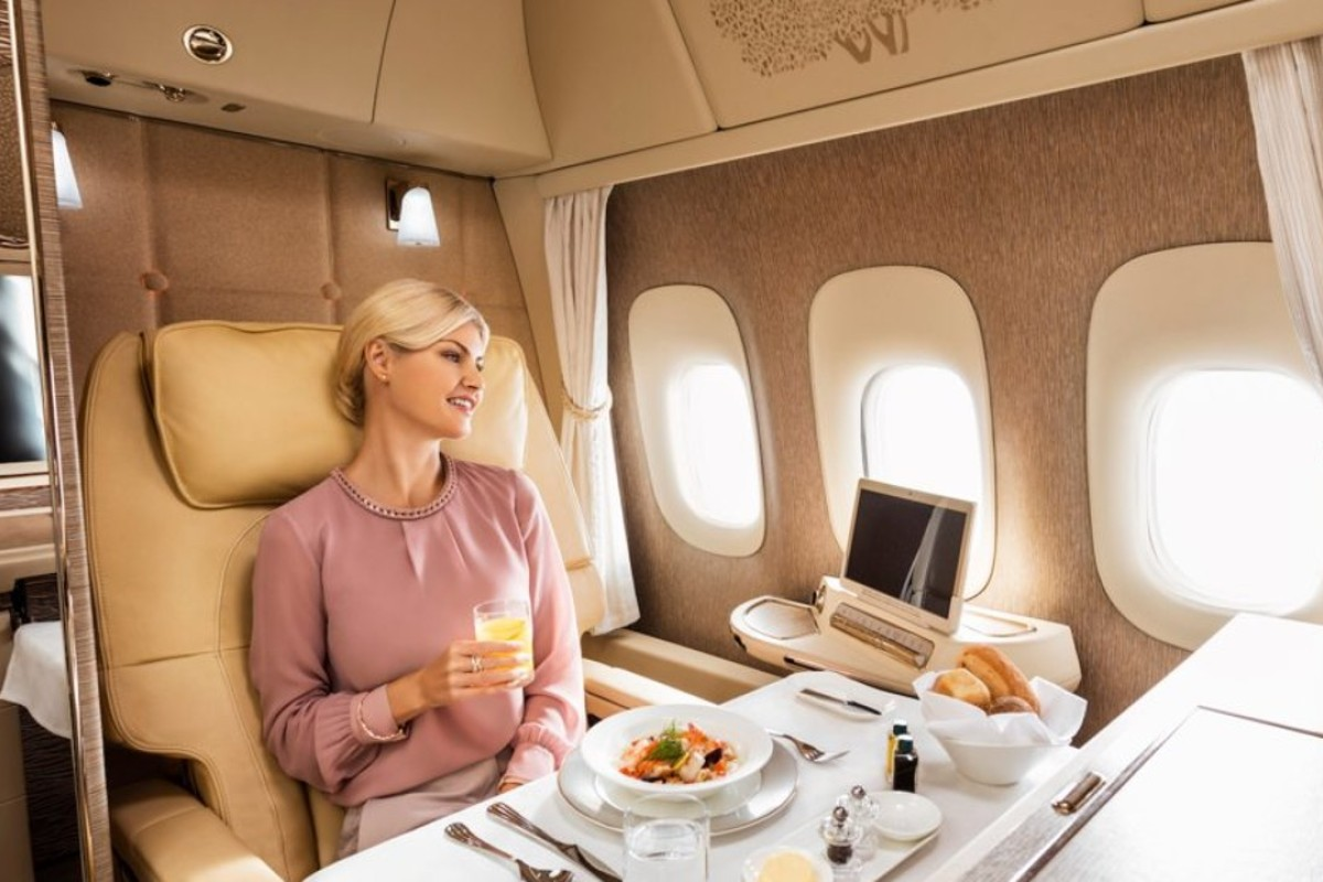 Is first-class travel worth it? A first-class airfare can cost tens of thousands of US dollars, but some fliers might find the fare worth it for the perks and convenience. Photo: Emirates