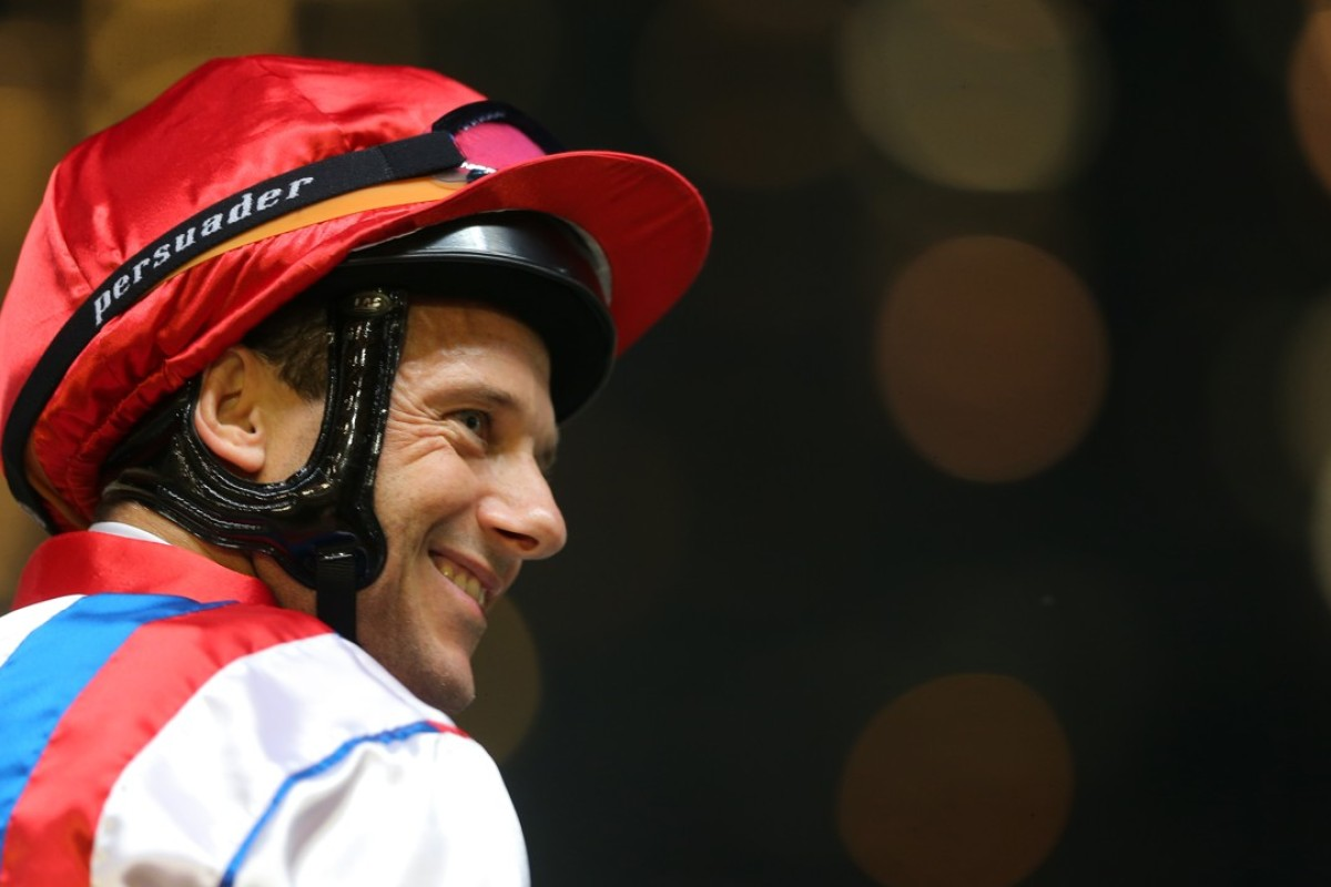 Jockey Brett Prebble. Photos: Kenneth Chan