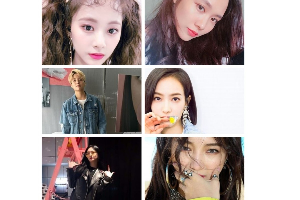 First row: Tzuyu (left) and Fei; second row: Amber Liu (left) and Victoria Song; third row: Kyulkyung (left) and Jia. Photos: Instagram