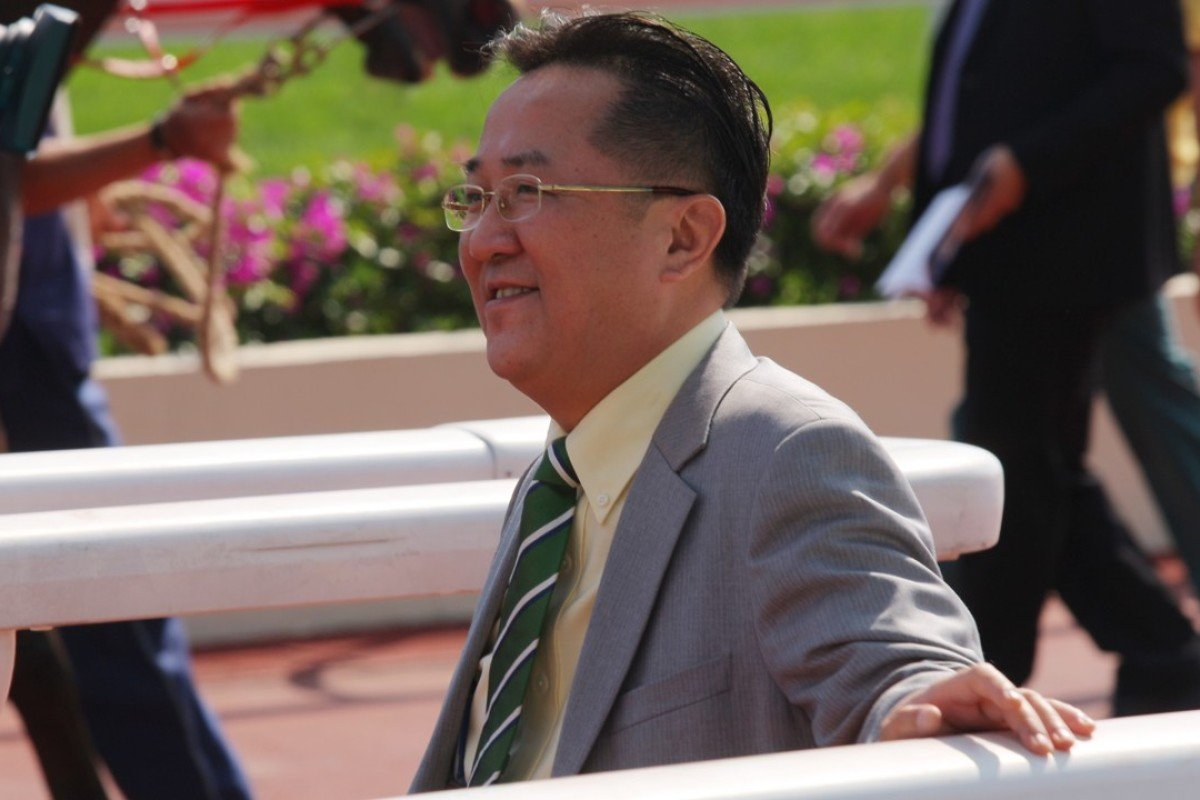 Trainer Almond Lee. Photos: Kenneth Chan