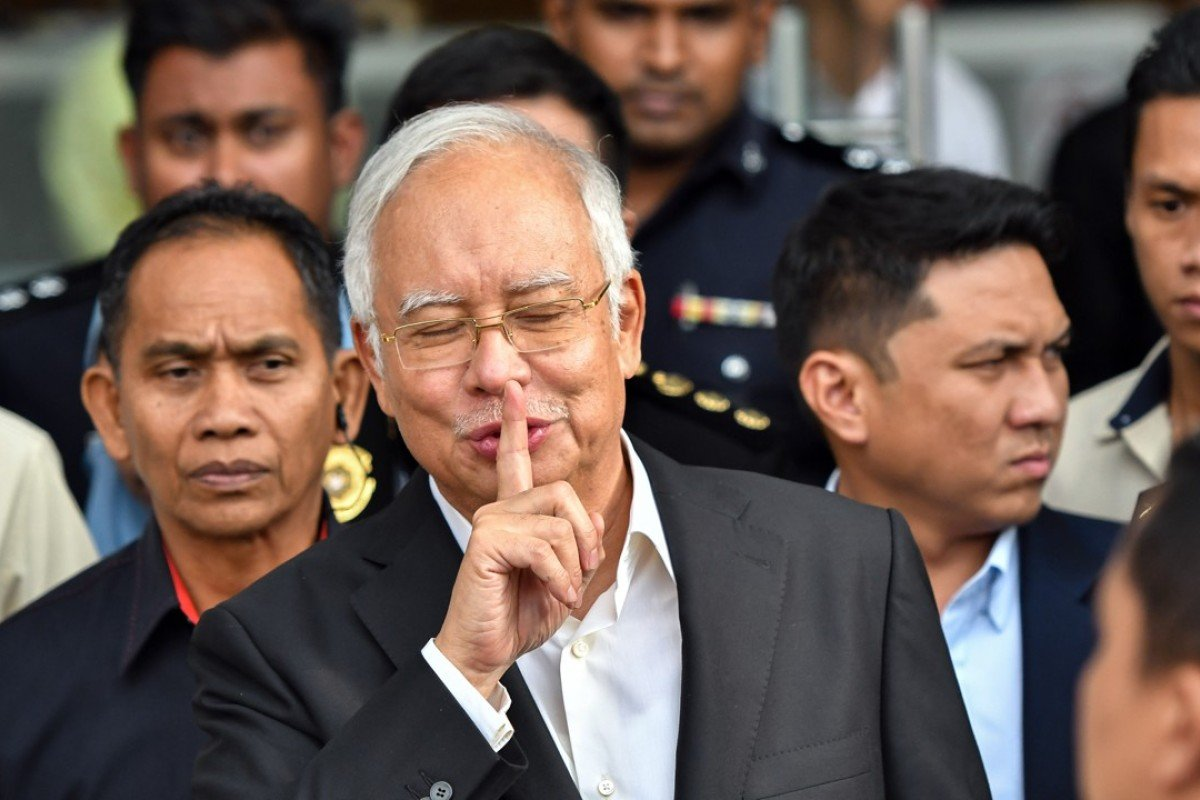 Najib Razak: prime suspect in the 1MDB financial scandal. Photo: Xinhua