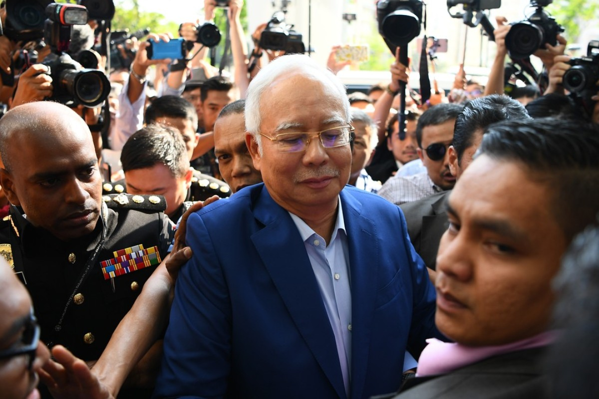Image result for PRESENTED IN MALAYSIA, FORMER MINISTER OF EXTERNAL AFFAIRS NAJIB COURT