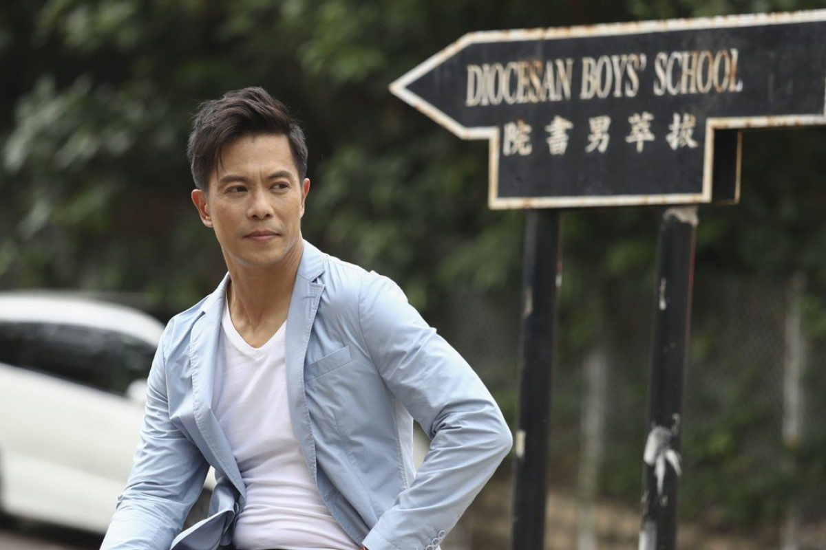 Hollywood actor Byron Mann in Hong Kong. Picture: Nora Tam