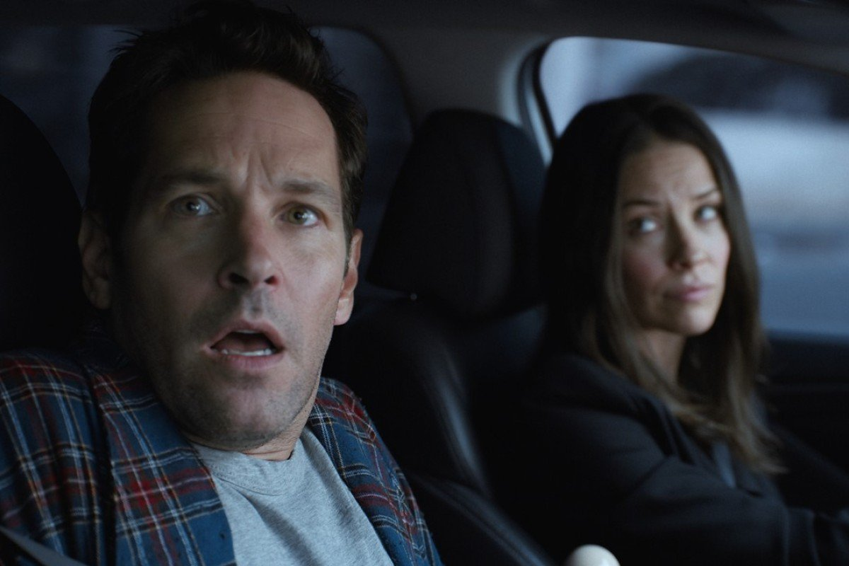 Marvel Studios' Ant-Man and The Wasp featuring Scott Lang/Ant-Man (Paul Rudd) and Hope van Dyne/The Wasp (Evangeline Lilly). Photo: Film Frame..©Marvel Studios 2018