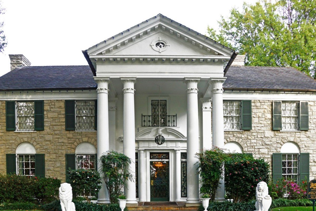 Elvis Presley's home, Graceland, in Memphis, Tennessee. Picture: Alamy