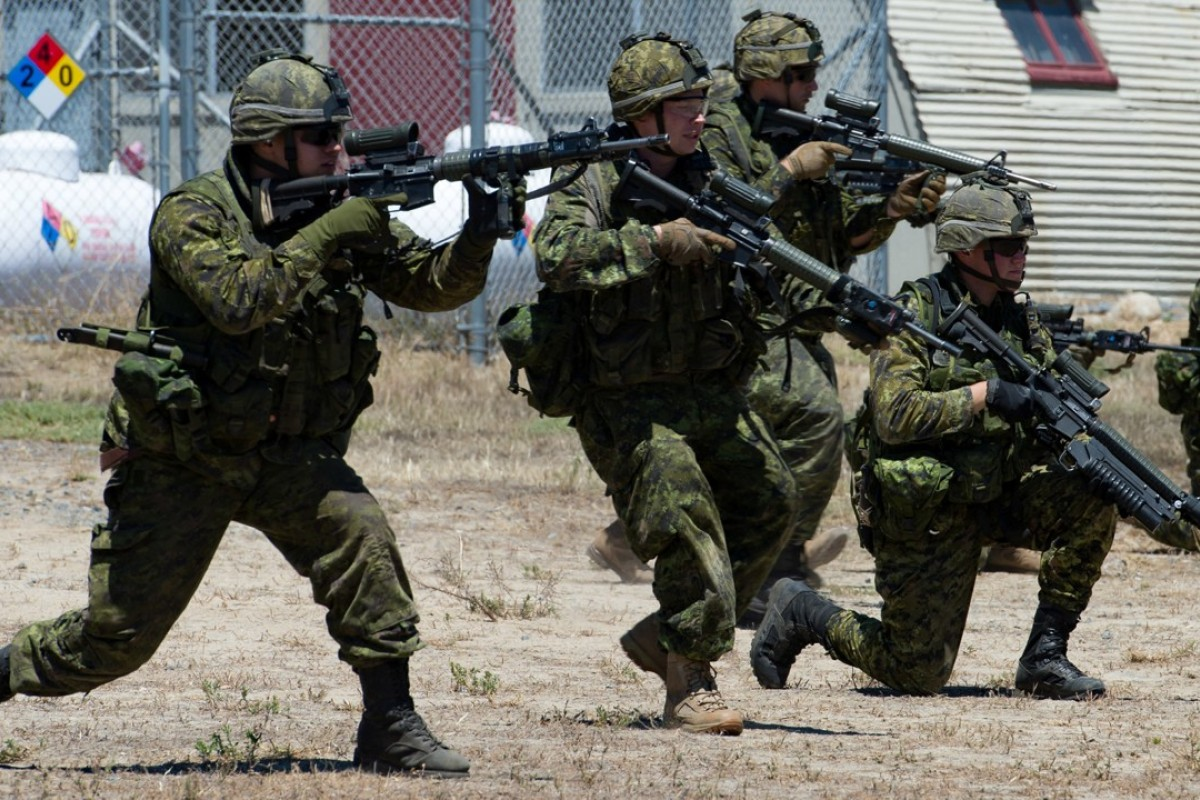 Canadian soldiers take part in Rimpac. Photo: Reuters
