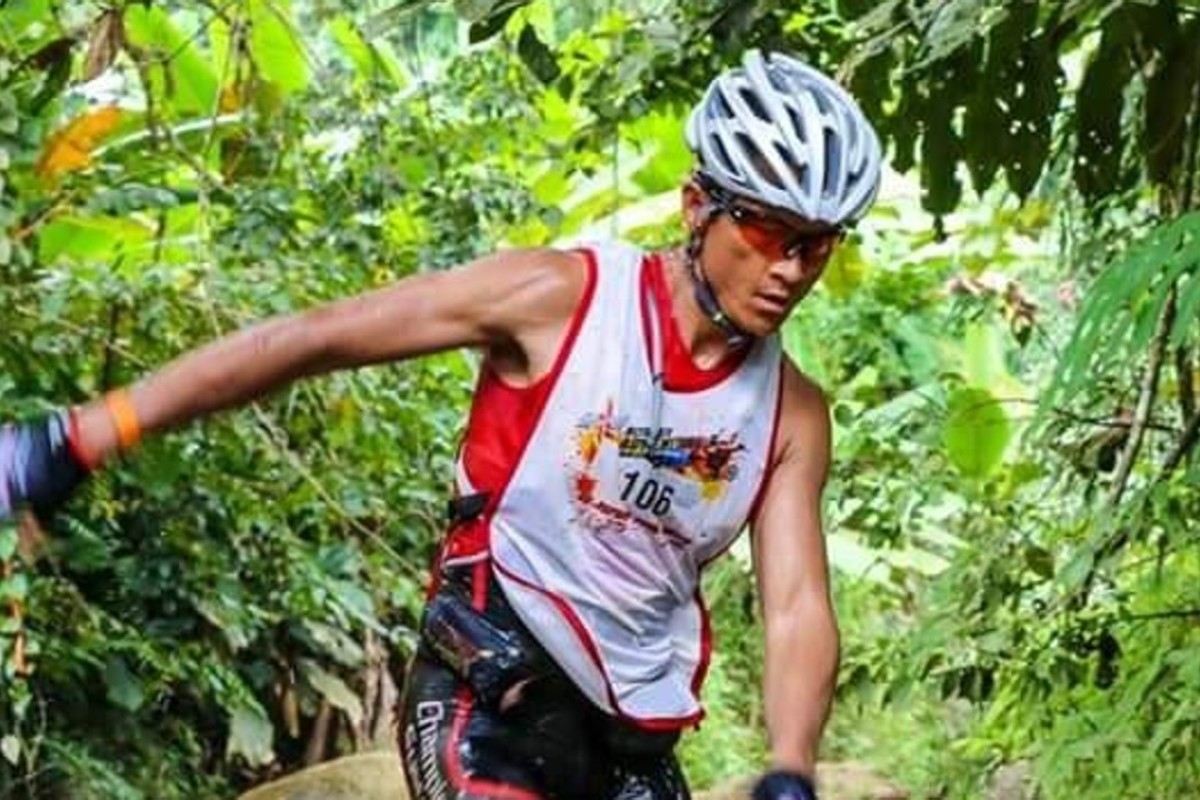 Saman Kunont died trying to save the Thai soccer team from flooded caves but is remembered fondly for his trail-running antics. Photo: Action River