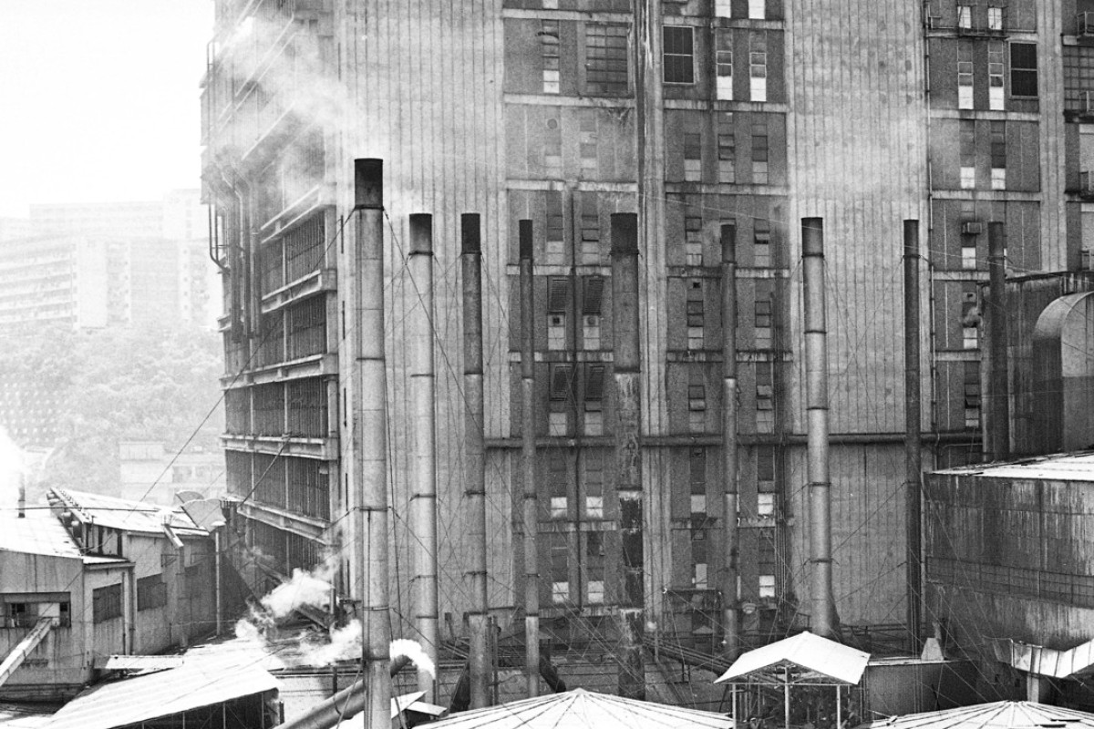 A dyeing works in Hong Kong new town Tsuen Wan in the 1970s. Such factories were responsible for air and water pollution. Picture: SCMP