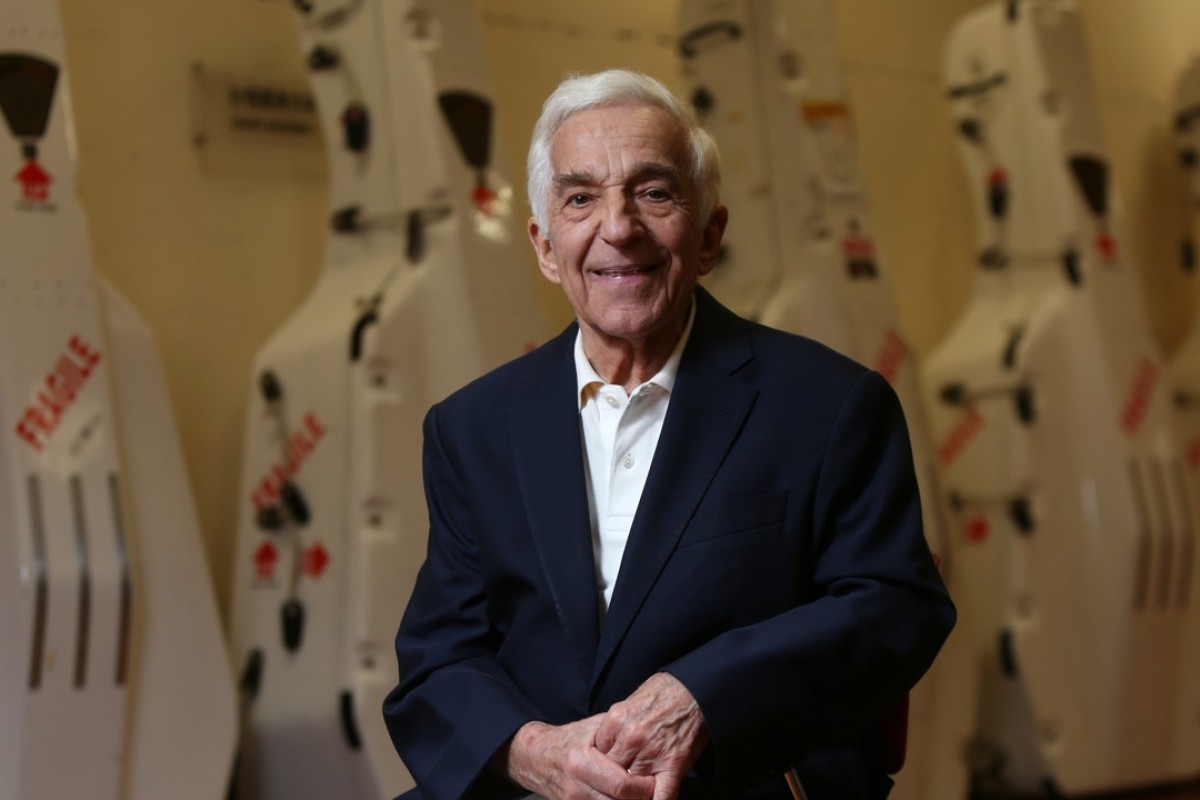 Pianist and conductor Vladimir Ashkenazy at the Hong Kong Cultural Centre, in Tsim Sha Tsui. Picture: Xiaomei Chen