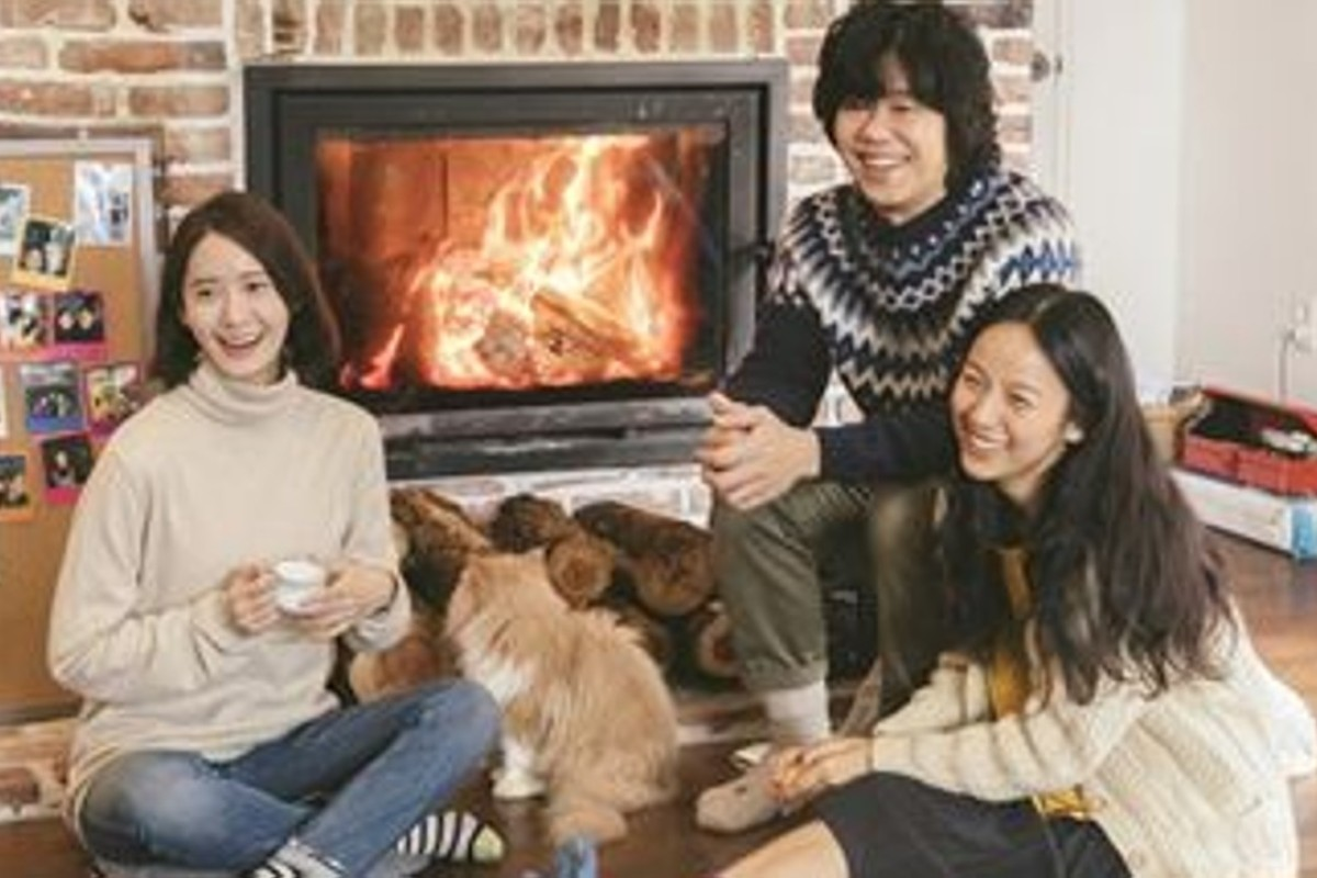 Reality TV show 'Hyori's Homestay' featuring Lee Hyo-ri (right), her musician husband Lee Sang-soon and singer Yoon-a, was filmed at the Jeju Island house. Photo: JTBC