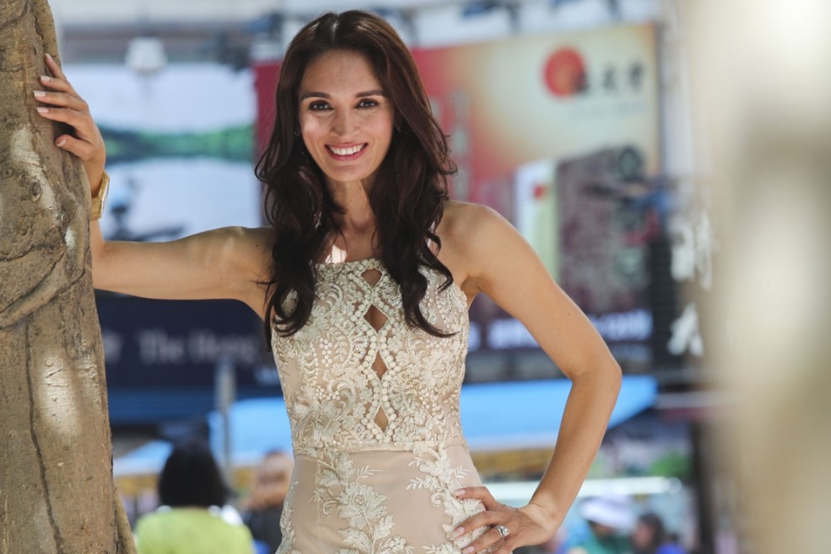 Mrs Hong Kong Natasha Clausen will represent Hong Kong later this year in the Mrs World competition. Picture: K. Y. Cheng