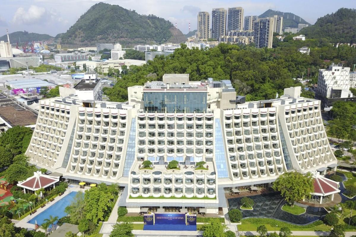 The Hilton Shenzhen Shekou Nanhai in the Shekou area of Shenzhen. Pictures: Shenzhen Hilton