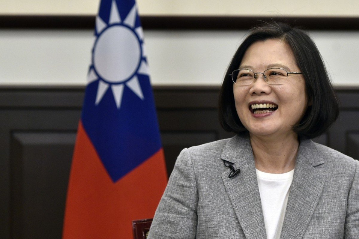 Some residents say Taiwan's President Tsai Ing-wen has hurt the island's economy. Photo: AFP