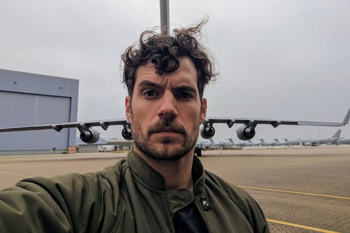Henry Cavill, star of 'Superman' and 'Mission: Impossible – Fallout', is one of many men to have cut down on their shaving. Photo: Instagram