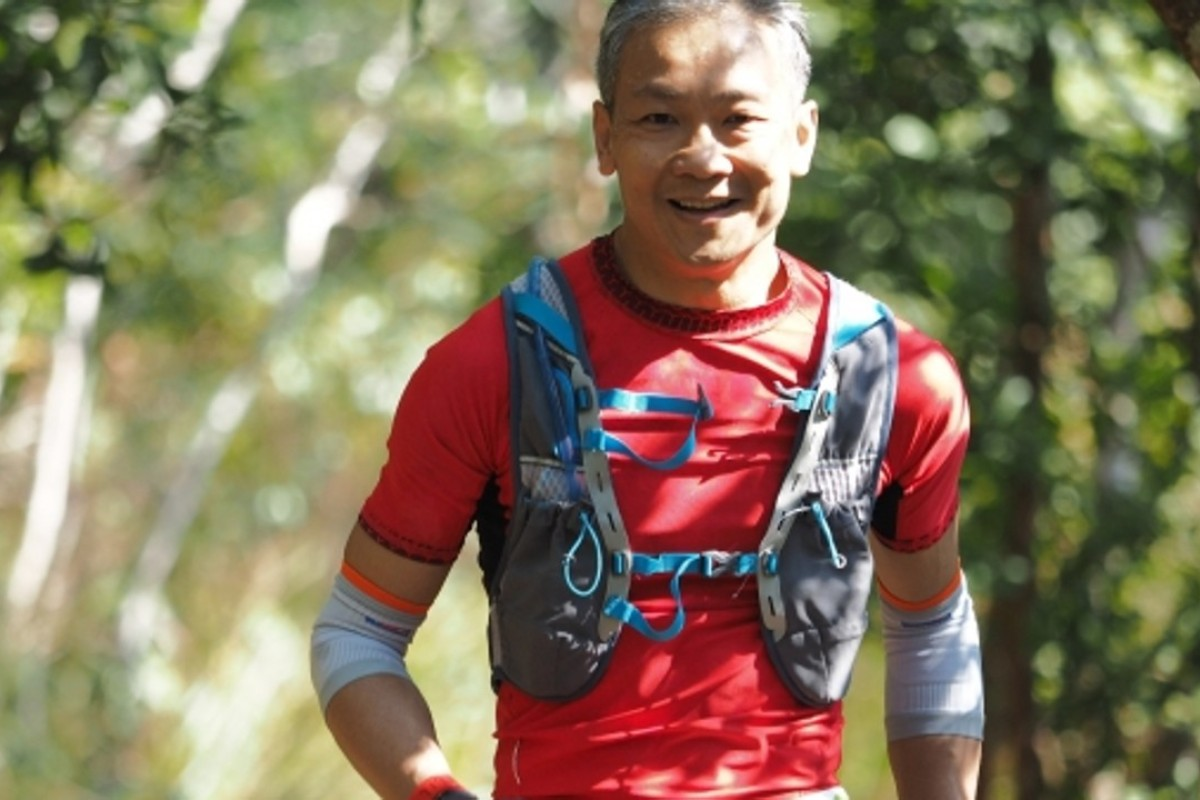 Anthony Fung is running the Lantau Trail 70 for Stand Tall, a charity dedicated to those affected by the Sichuan earthquake. Photo: Konu Tang
