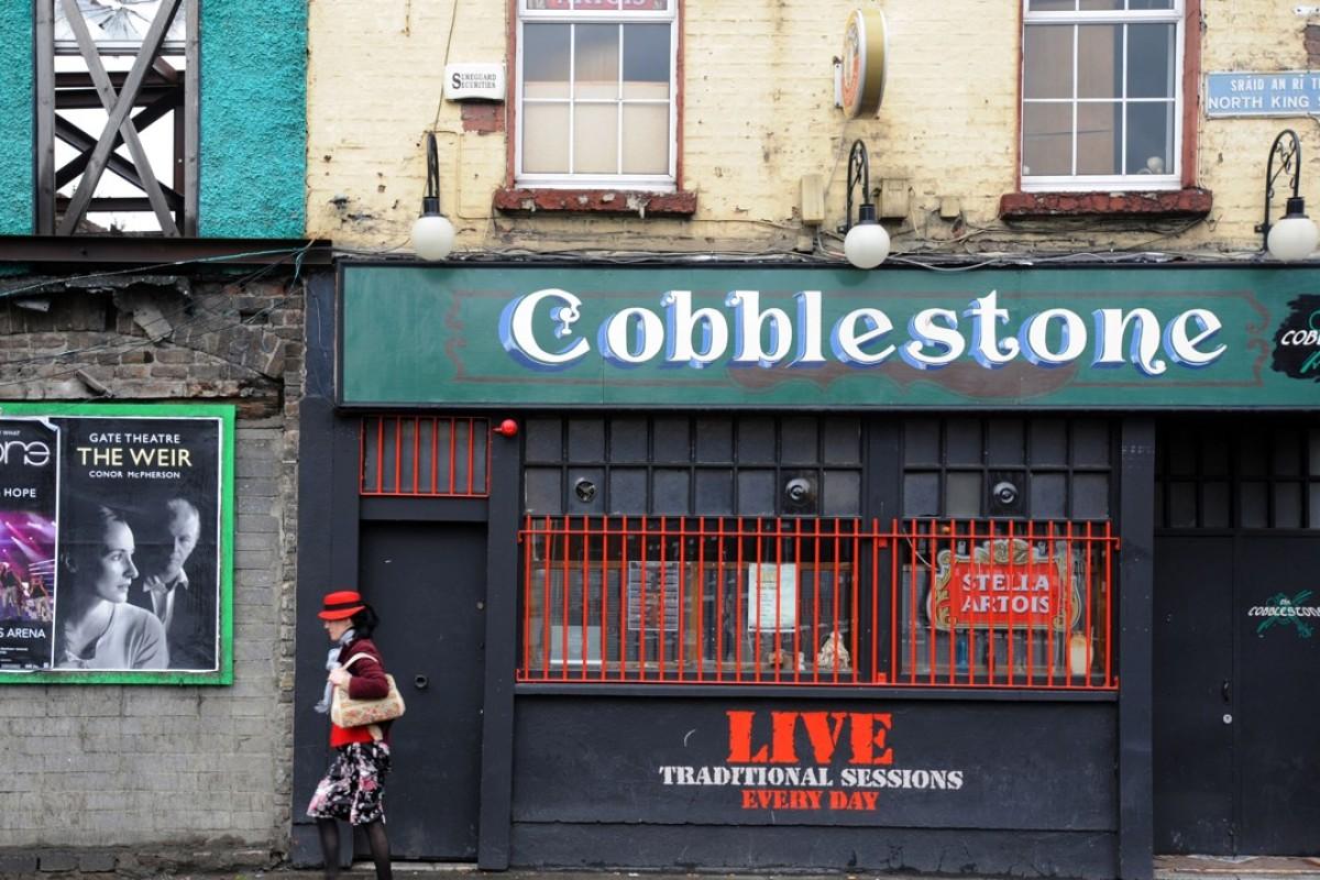 The Cobblestone pub in Smithfield.