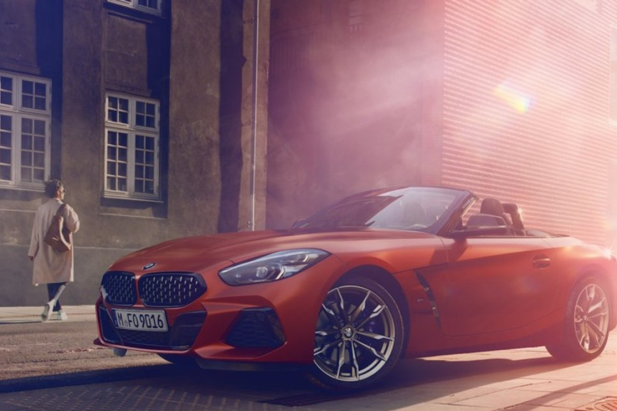 The 2019 BMW Z4 M40i First Edition's will feature BMW M-tuned sports suspension completed with electronically controlled dampers, an upgraded braking system and an electronically operated soft top. Photos: BMW