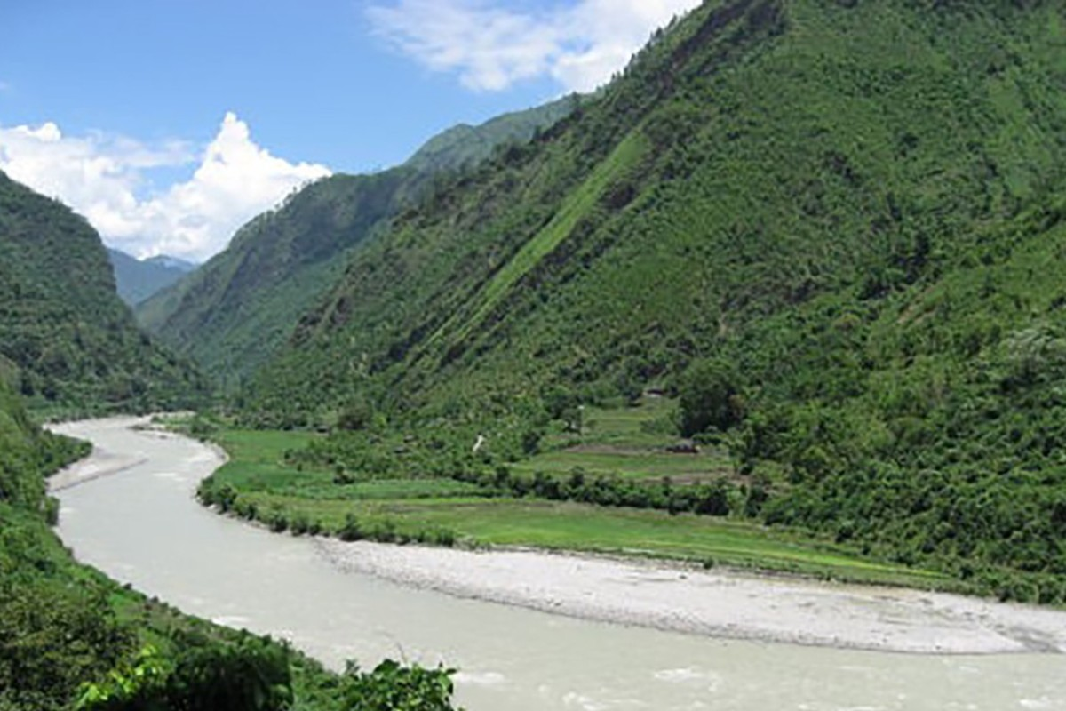 The West Seti river in Nepal. Photo: Handout