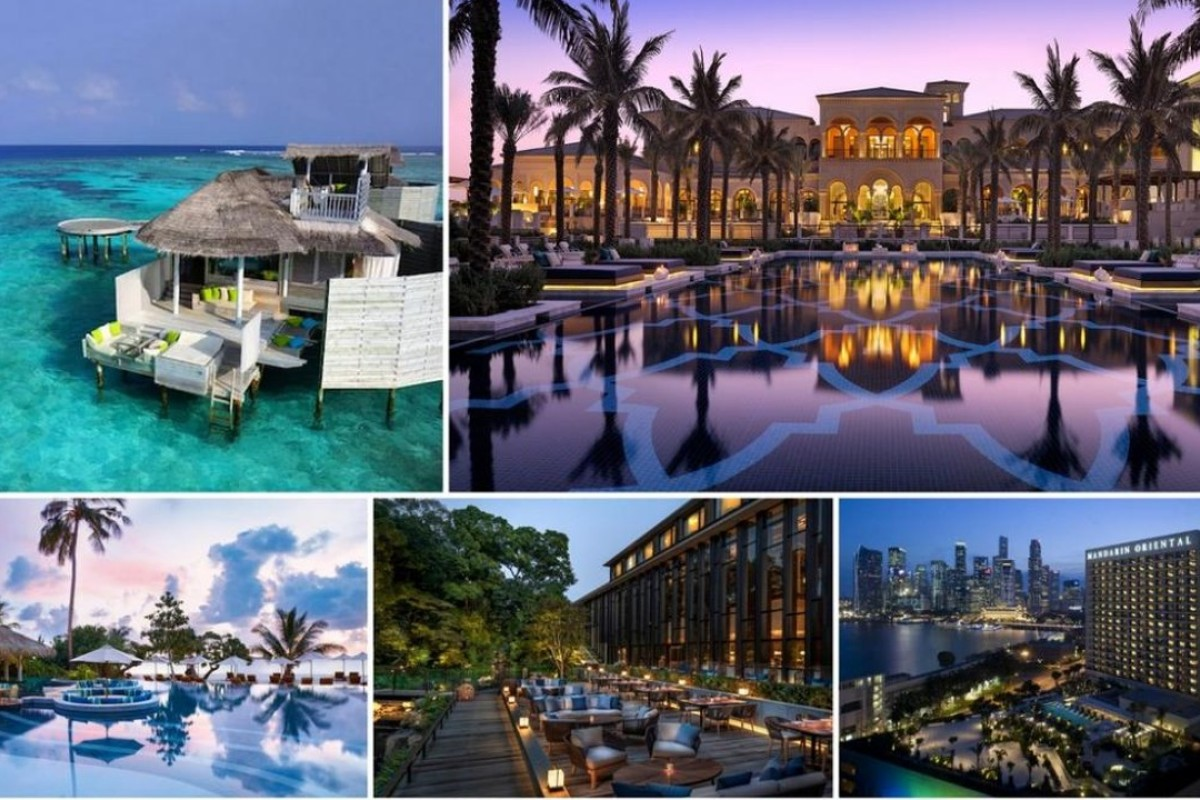 have you stayed at any of these top 12 global luxury hotel brands