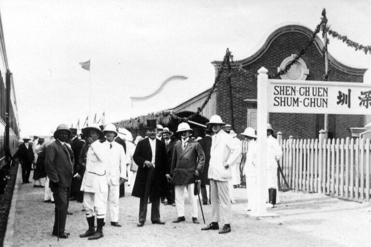 The opening of the Kowloon-Canton Railway, in October 1911. Picture: www.kcrc.com