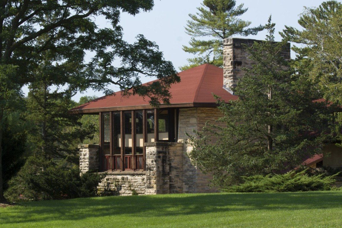 frank lloyd wright s taliesin estate survived fire and murder to