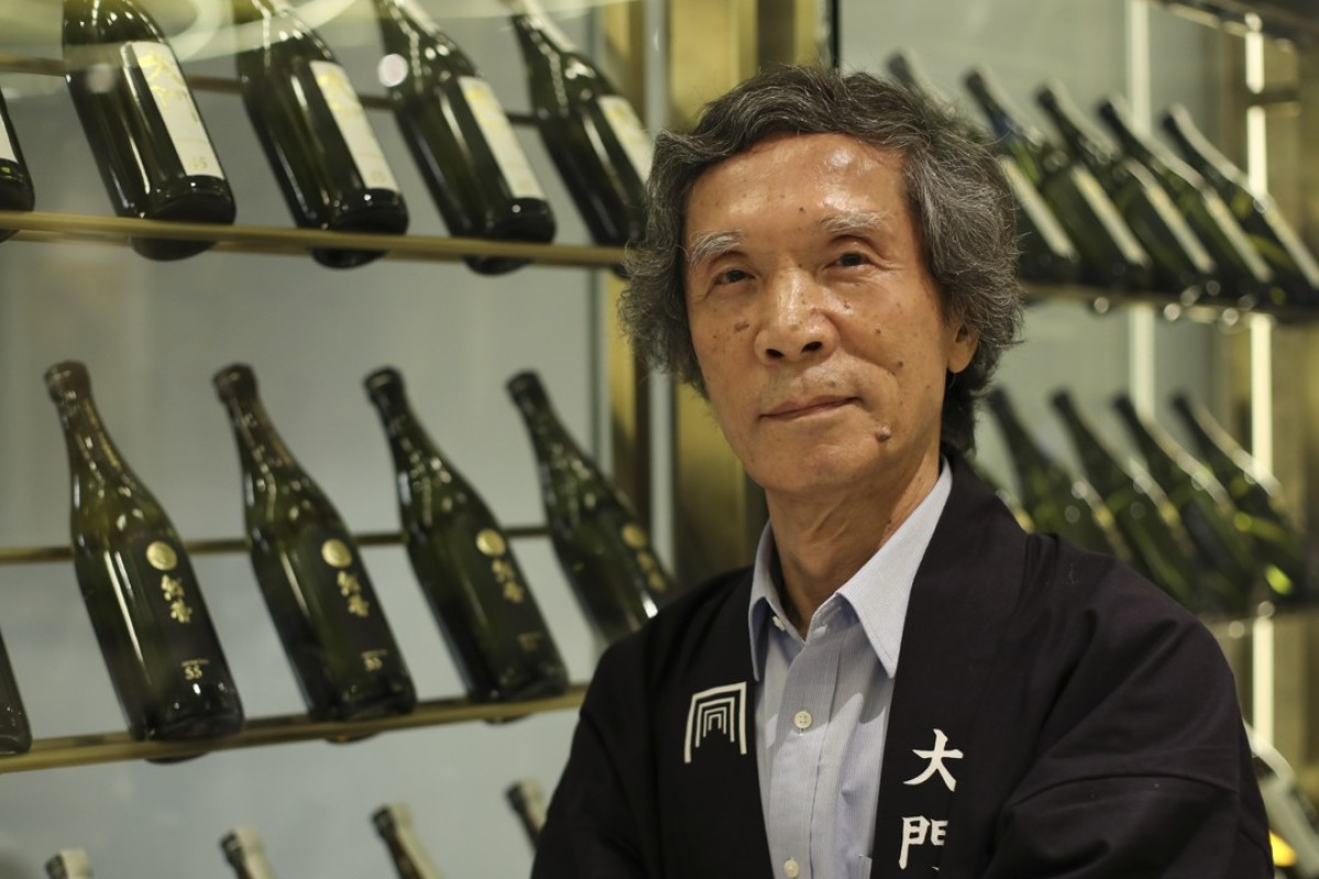 Yasutaka Daimon, the sixth generation owner of Daimon sake brewery. Picture: K. Y. Cheng