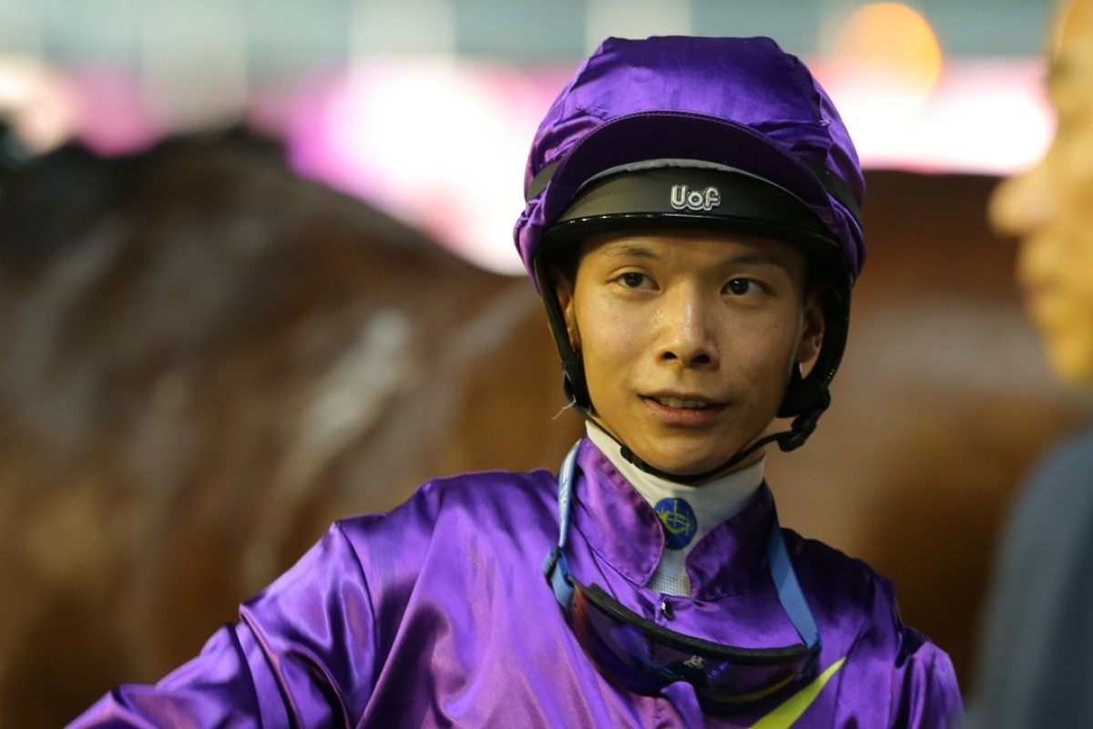 Victor Wong wins a race at Happy Valley earlier this season. Photos: Kenneth Chan
