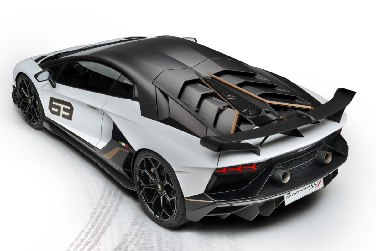 Lamborghini has produced a special- edition Aventador SVJ 63 in honour of the marque's founding in 1963.